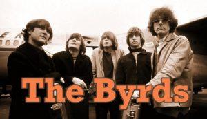 Los miembros de la banda americana The Byrds en una imagen promocional