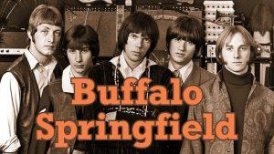 Los miembros del grupo americano Buffalo Springfield en imagen promociona