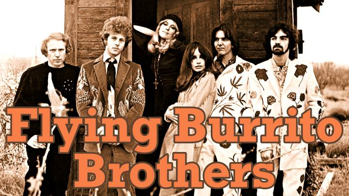 Miembros de Flying Burrito Brothers