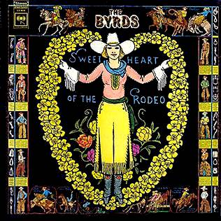 portada de sweetheart of the rodeo, disco de la banda americana The Byrds