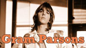 Gram Parsons músico americano de Country Rock