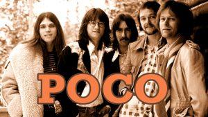 Miembros del grupo americano de Country Rock Poco