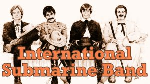 Miembros de la International Submarine Band el primer grupo de Gram Parsons