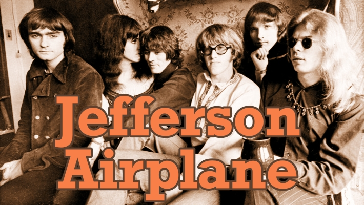 Jefferson Airplane miembros de la banda de rock psicodelico