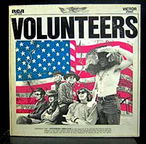 volunteers portada de Jefferson airplane