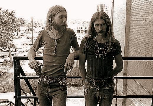 berry oakley and duane allman miembros fundadores de los Allman Brothers