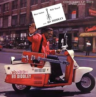 Bo Diddley have guitar will travel portada